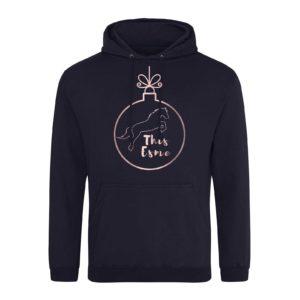This Esme Festive Casper Bauble hoodie