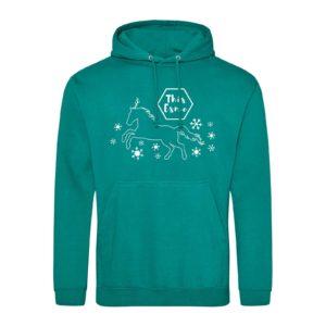 This Esme Festive Mickey hoodie